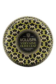 Voluspa Vervaine Olive Leaf Candle - Front cropped