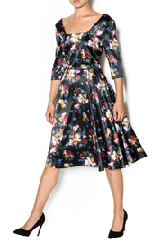 Voodoo Vixen Old Master Floral Dress - Product Mini Image