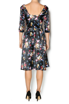 Voodoo Vixen Old Master Floral Dress - Alternate List Image