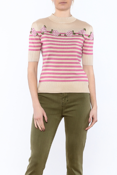 Voodoo Vixen Rose Spring Sweater - Product List Image