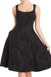 Voodoo Vixen Black Flare Dress - Product Mini Image