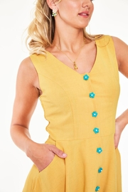 Voodoo Vixen Busy Bee Embroidered-Dress - Other
