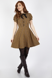Voodoo Vixen Check Mate Dress - Product Mini Image