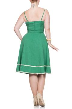 Voodoo Vixen Daisy Green Dress - Alternate List Image