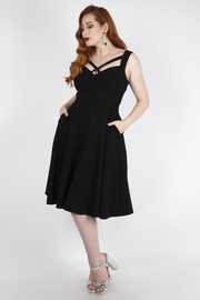 Voodoo Vixen Jenny 1950's Swing-Dress - Front cropped