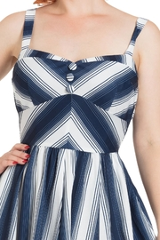 Voodoo Vixen Kayla Nautical Dress - Side cropped