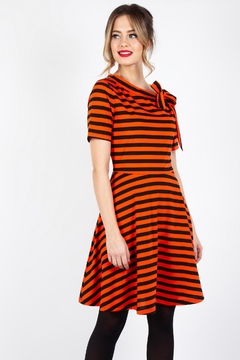 Voodoo Vixen Pumpkin Spice Dress - Product List Image