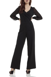 Voodoo Vixen Rosemary Long-Sleeve Jumpsuit - Front cropped