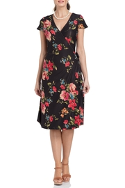 Voodoo Vixen Sophia Floral Wrap-Dress - Product Mini Image