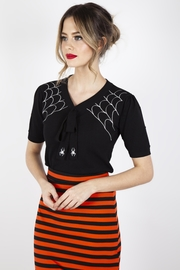 Voodoo Vixen Sultry Spiderweb Sweater - Product Mini Image