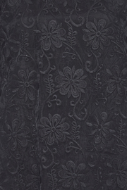 Voom Black Embroidered Top - Other