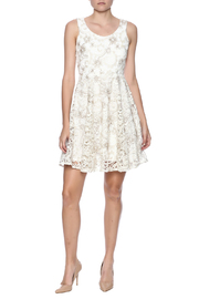 Voom Lace Dress - Front full body