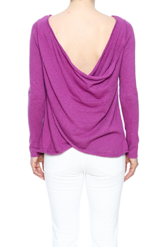 Voom Purple Cross Back Sweater - Product List Image