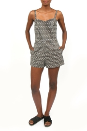 VOORPRET LA Paperclip Pattern Playsuit - Product Mini Image