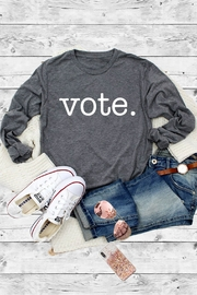 Caramelo Trend VOTE. Graphic Tee - Product Mini Image
