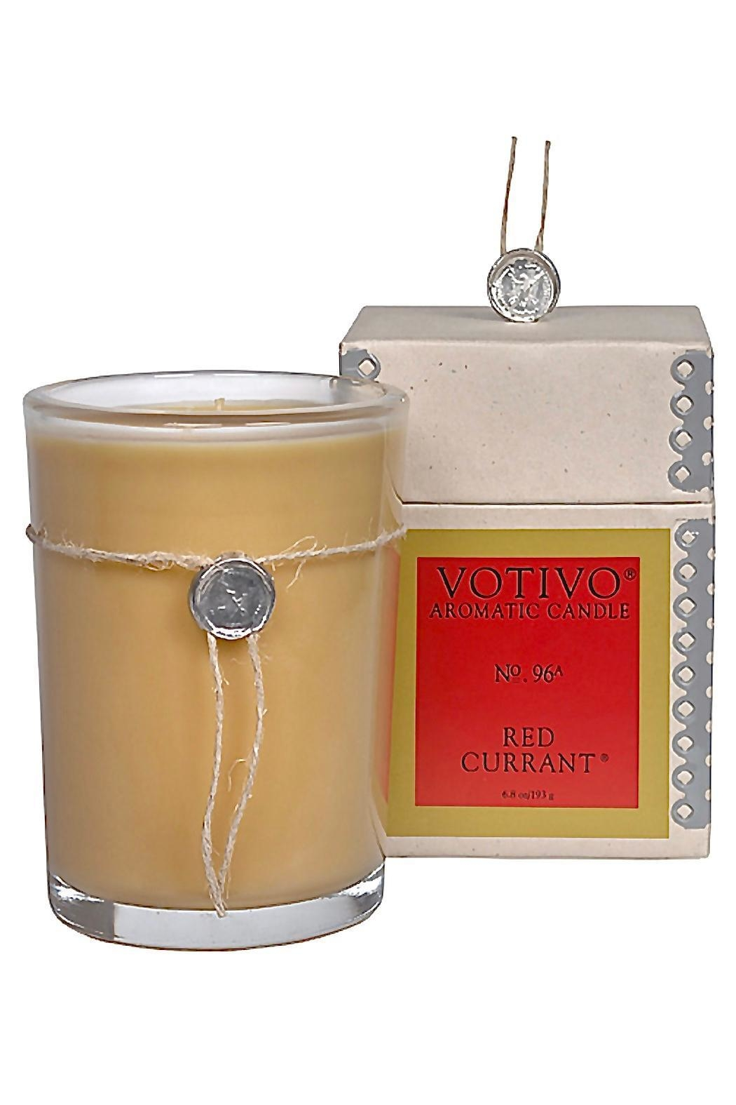 Votivo Aromatic Candles Red Currant Candle - Main Image