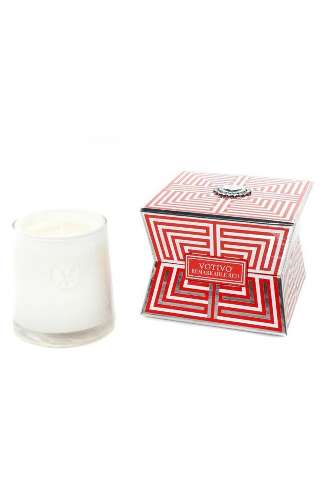 Votivo Aromatic Candles Remarkable Red Soziety Candle - Front Cropped Image