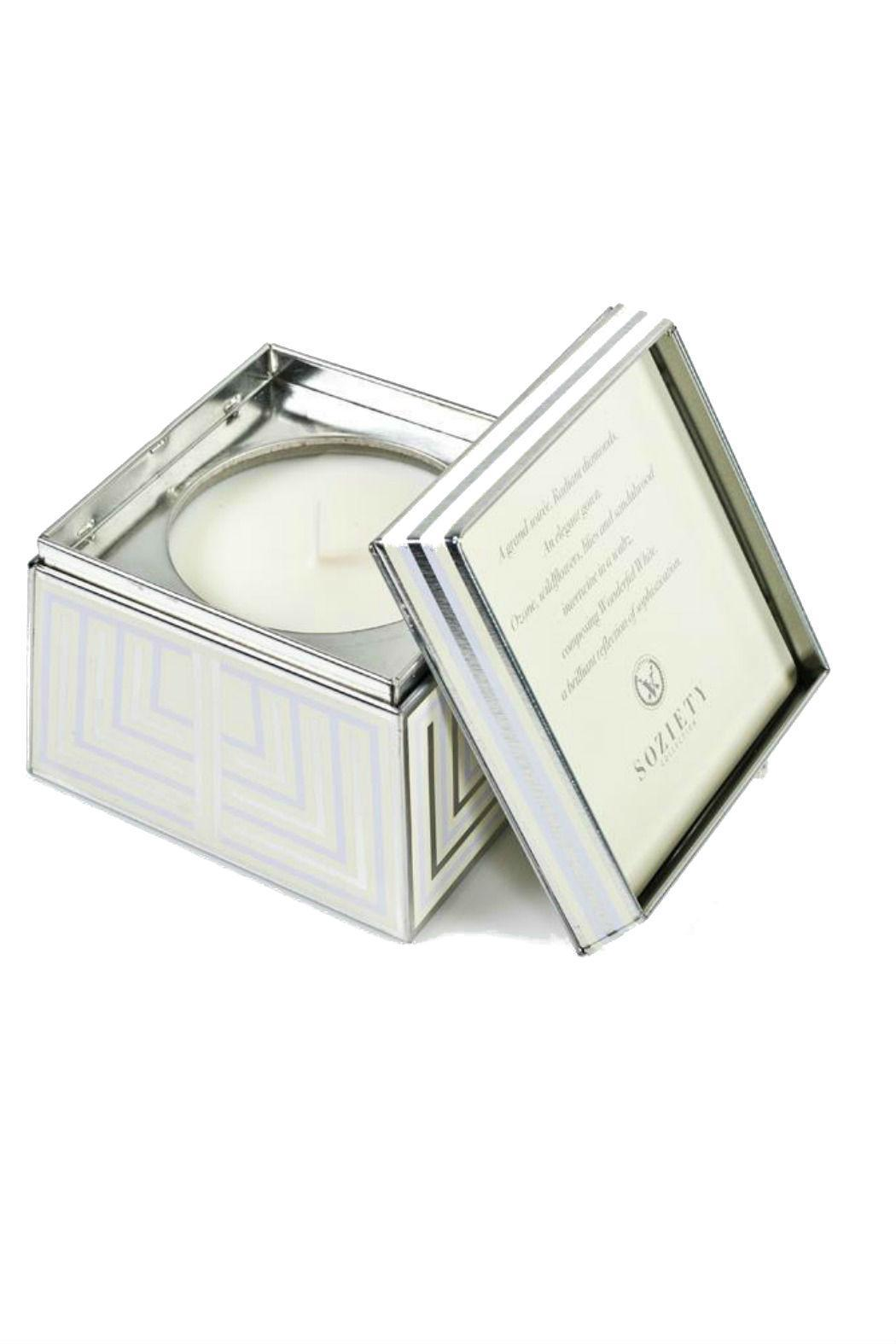 Votivo Aromatic Candles Trapezoid Tin Candle - Main Image