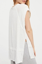 Free People Voyage Tee - Front full body