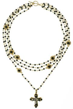 VSA Designs Bicone Magdalena Necklace - Product List Image
