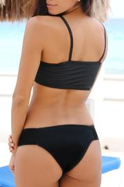 Vulcano Swimwear Elastic Black Bottom - Product Mini Image