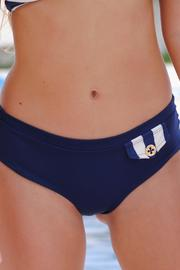 Vulcano Swimwear Navy Blue Bottom - Product Mini Image