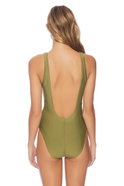 Vyb Olive Plunge One-Piece - Side cropped