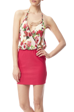 W by Wenjie Halter Mini Dress - Product List Image