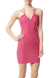 W by Wenjie Pink Cross-Back Dress - Product Mini Image