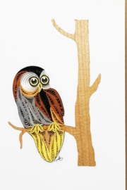 Iconic Quilling w248 Owl 5x7 - Product Mini Image