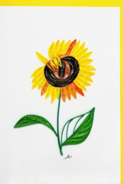 Iconic Quilling w318-Sunflower Card 5x7 - Product Mini Image