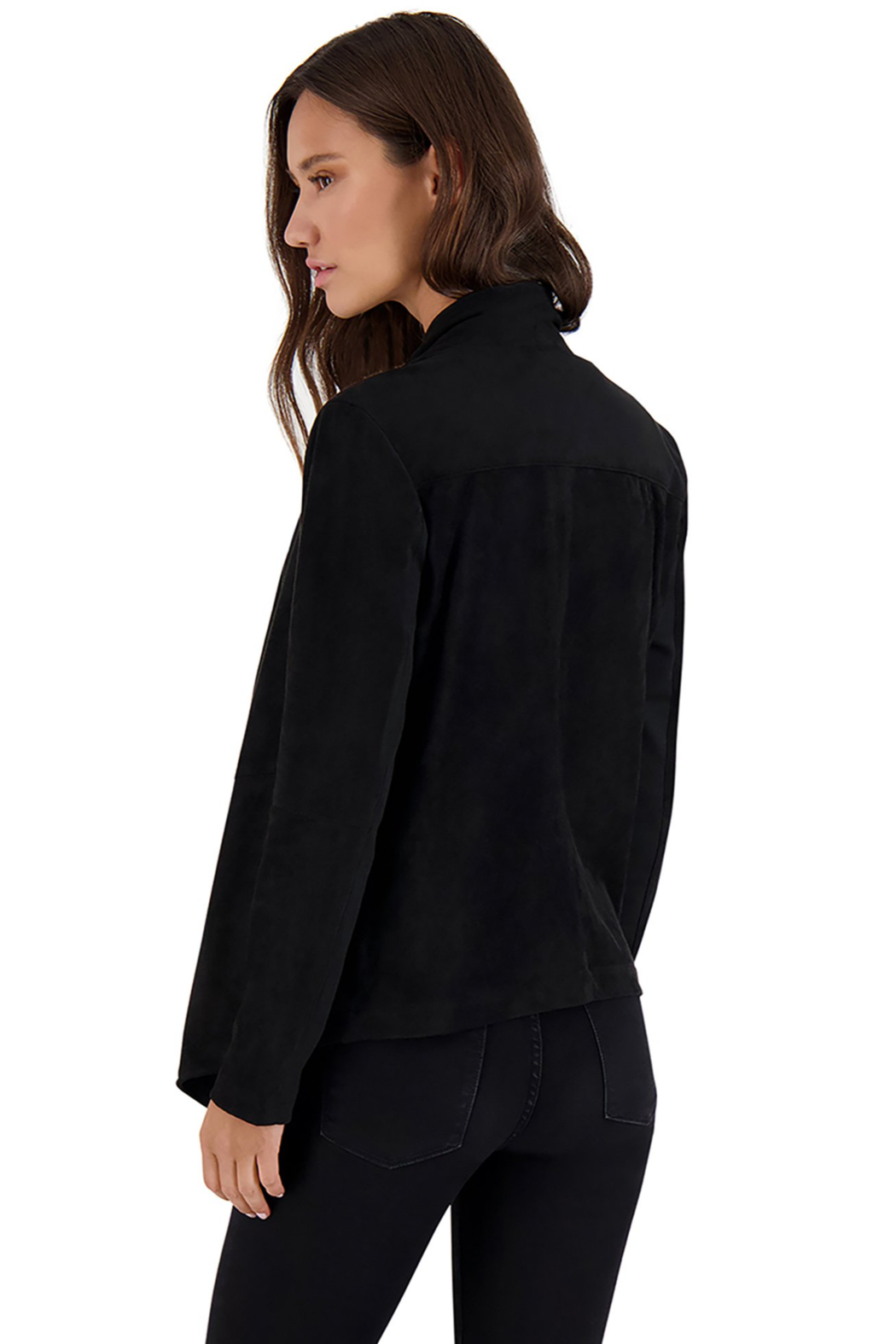 BB Dakota Wade Faux Suede Jacket - Side Cropped Image