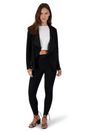 BB Dakota Wade Faux Suede Jacket - Back cropped