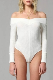 By Together Waffle Body Suit - Back cropped