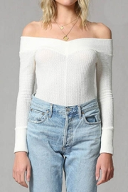 By Together Waffle Body Suit - Front cropped