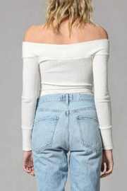 By Together Waffle Body Suit - Side cropped