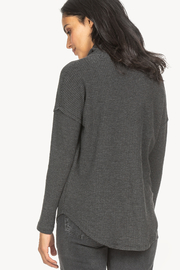 Lilla P Waffle Cowl Top - Front full body