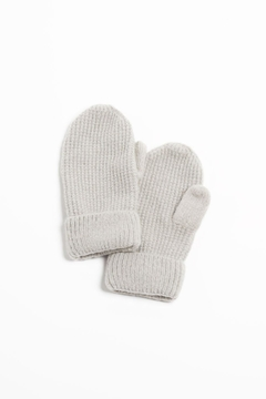 Shoptiques Product: Waffle Knit Mittens