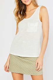Mittoshop Waffle Knit Pocket Tank - Product Mini Image