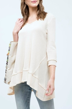 Blu Pepper Waffle Knit Top - Product List Image