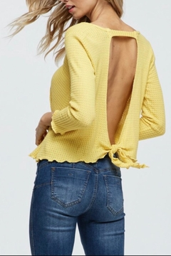 Jolie Waffle Knit Top - Product List Image