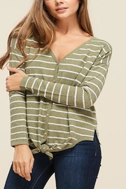 Apricot Lane St. Cloud Waffle Knit Top - Product Mini Image