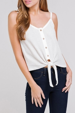 BaeVely Waffle Tank Top - Product List Image