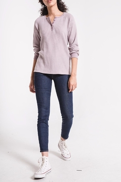 Shoptiques Product: Waffle Thermal Henley