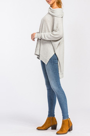 Cherish Waffle Thermal Top - Side cropped