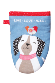 Kay Dee Designs Wags Oven Grabber - Product Mini Image