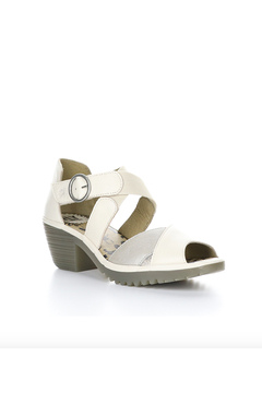 Fly London Waid Cream Sandel with Rubber Sole - Product List Image