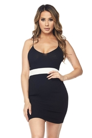 Hot & Delicious Waist Stripe Dress - Front cropped