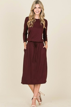 Reborn J Waist Tie Dress - Product List Image
