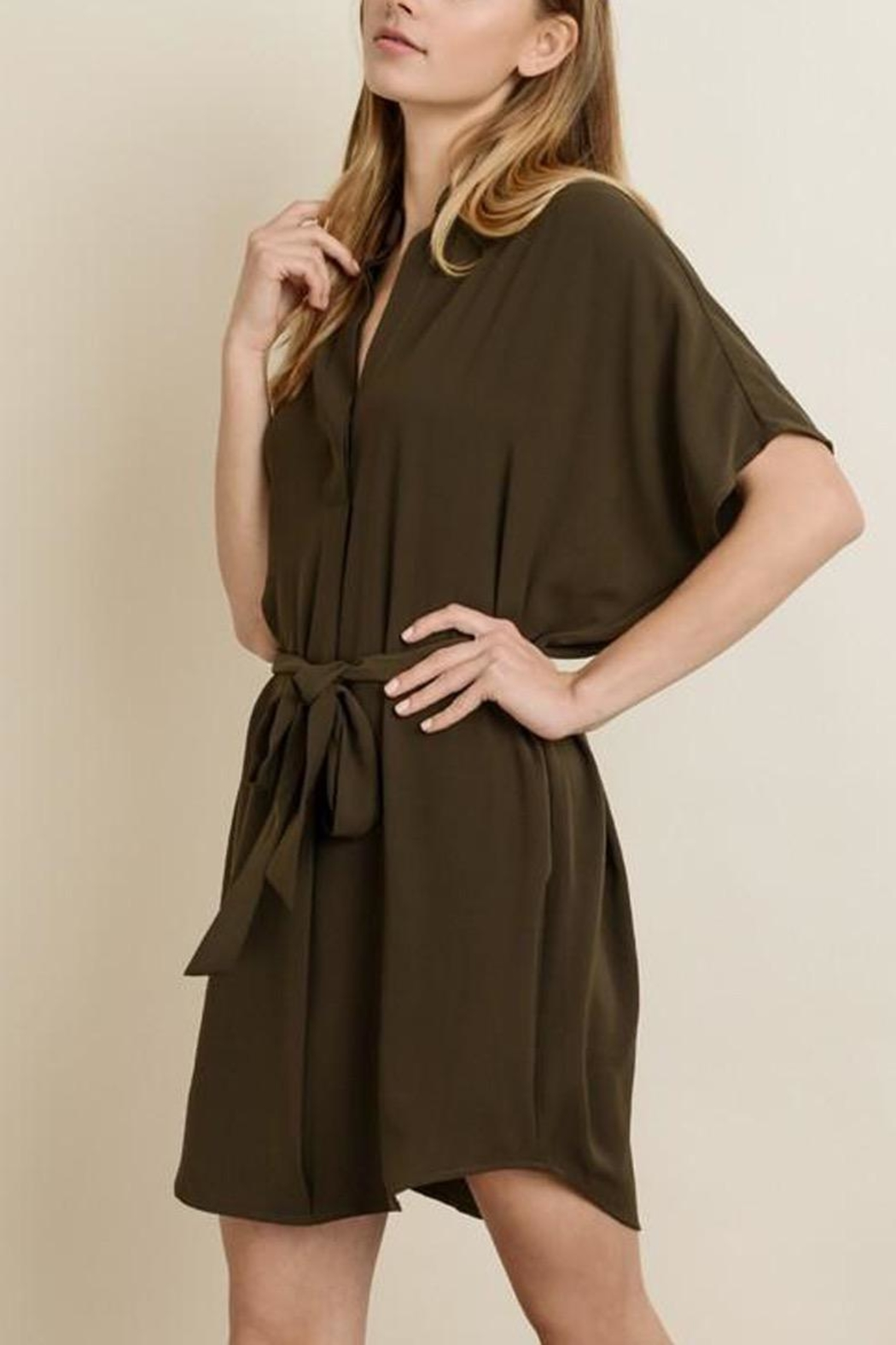dress forum Waist-Tie Shirt Dress - Main Image